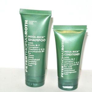 💗5/$25 Peter Thomas Roth Mega rich shampoo Condit